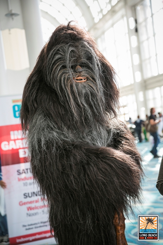 Star Wars Wookie Cosplay Long Beach Comic Con Expo