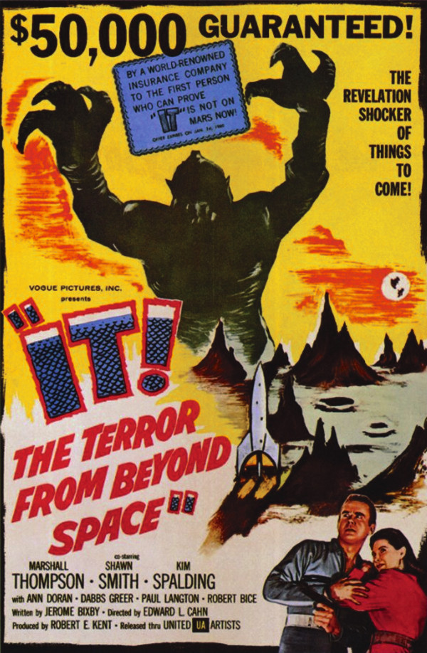 IT - The Terror from Beyond Space Movie Poster