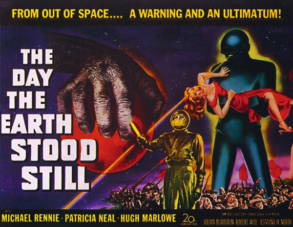 Movie Poster for The Day The Earth Stood Still