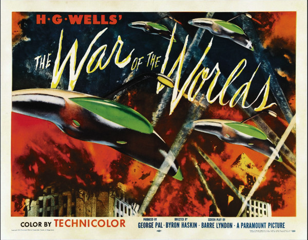 Movie Poster for The War of the Worlds