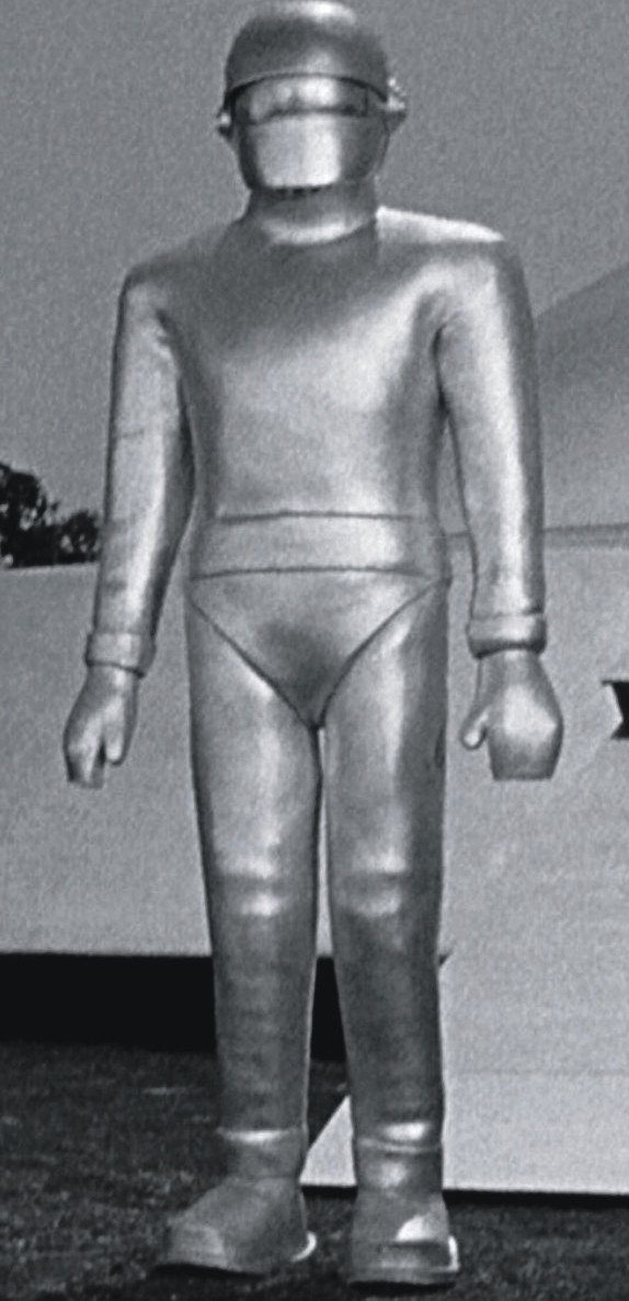 "Gort the robot from ""The Day The Earth Stood Still"""
