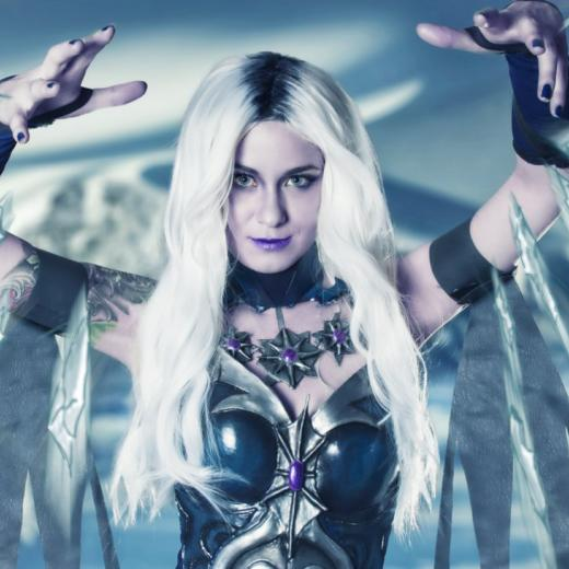Justine Kosuplay Cosplays as Killer Frost / Photo by GiantShev Photography
