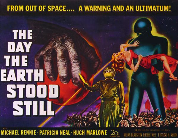 "1951 Movie Poster for ""The Day the Earth Stood Still"""