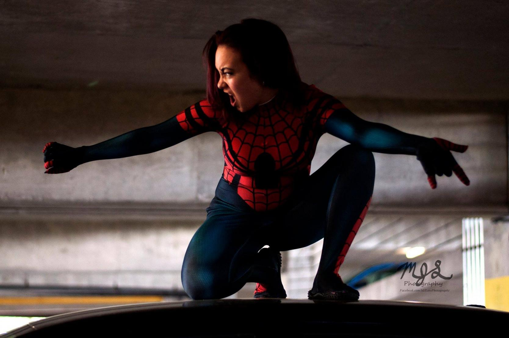 Spider Girl Cosplay
