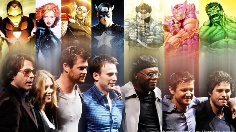 Avengers Characters And Their