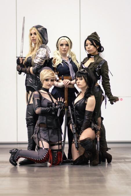 Sucker Punch Cosplay Group at Fan Expo Vancouver 2015