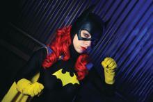 Cosplayer Allison Hill as Batwoman