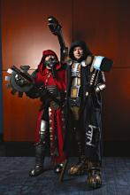Warhammer 40K Cosplayers at C2E2 2015