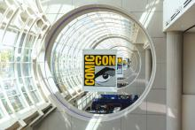 San Diego Comic Con Sign and Logo