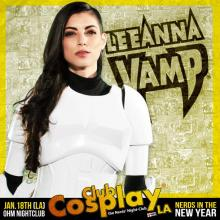 Club Cosplay Poster Art with LeeAnna Vamp