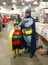 Batman Robin Cosplay East Coast Comicon