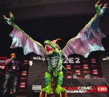 Champion Cosplayer Mike Wong in Dragon Cosplay