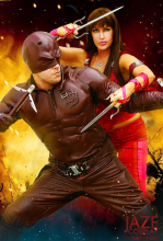Daredevil and Elektra Cosplay by Captain Jaze Cosplay