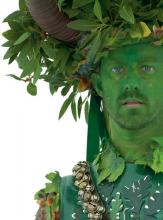 Close-Up of Cosplayer dressed as The  Green Man