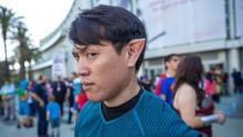 Norm Chan cosplaying a Vulcan
