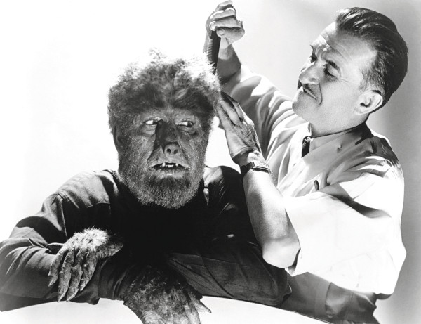 Lon Chaney as The Wolf Man